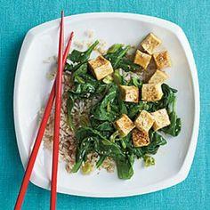 Korean-Inspired Sautéed Tofu | CookingLight.com