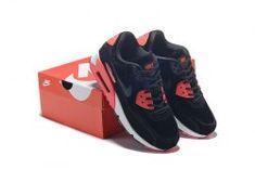 best sneakers fcb24 14c53 Nike Air Max 90 Black Red Men s women s Running Shoes Sneakers