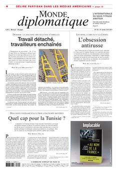 LE MONDE DIPLOMATIQUE en francés nº 721 (abril 2014)