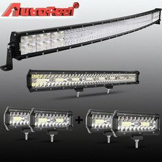 """22inch 120W COMBO LED Light Bar Offroad Driving 4WD For 10-14 Ford F150 20/"""" 23/"""""""