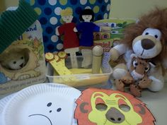 Flame: Creative Children's Ministry: Daniel in the lions' den story bag