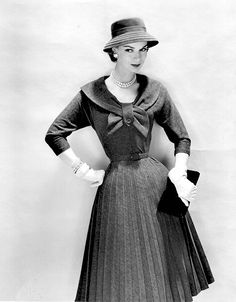 dress by Arnold Constable, 1957