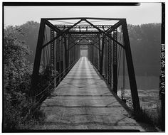 Photo Wagon Bridge Spanning Des Moines River Boone Boone County IA | eBay