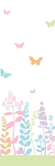 Mural Portfolio II Butterfly Wall Mural