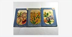 #Meyercord #Decals #Flowers and #Fruit #vintage #gotvintage #homedecor