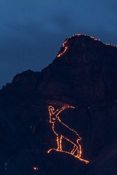 Ehrwalder Bergfeuer 2013