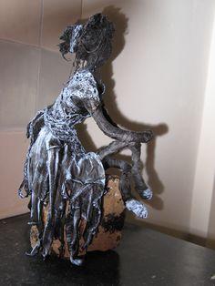 My first paverpol sculpture