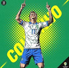 Football Player Costume, Football Players, Brazil, Costumes, Illustration, Wallpaper, World Cup, Hs Sports, Drawings