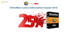 25% Off DriverMax 2 years subscription coupon code http://notecoupon.com/coupon/25-off-drivermax-2-years-subscription-coupon-code