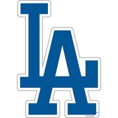 Los Angeles Dodgers MLB 12 Inch Car Magnet