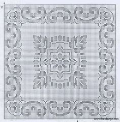 quilting like crazy Filet Crochet Charts, Knitting Charts, Knitting Patterns, Crochet Patterns, Biscornu Cross Stitch, Cross Stitch Embroidery, Cross Stitch Patterns, Knit Or Crochet, Crochet Motif