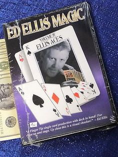 ELLIS ACES ED ELLIS MAGIC VOL 4 NEW DVD CLOSE-UP CARD MAGIC VINTAGE LOT Collectibles:Fantasy, Mythical & Magic:Magic:Books, Lecture Notes www.internetauctionservicesllc.com $19.99