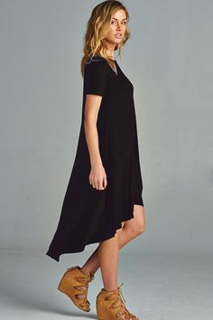 Claire Dress in Black