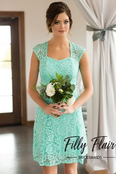 da60c9ffd7 The perfect and classic dress for any wedding and any season! This  beautiful lace bridesmaid