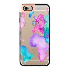 iPhone 6 Plus/6/5/5s/5c Metaluxe Case - Modern pink purple green... ($50) ❤ liked on Polyvore featuring accessories, tech accessories, phone, phone cases, cases, celular, iphone case, apple iphone cases, iphone cases and iphone cover case