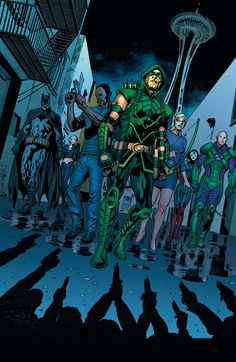 Green Arrow by Daniel Sampere | GREEN ARROW #40