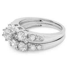 3 Stone Bridal Engagement Rings 2