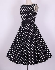 1950s rockabilly dress