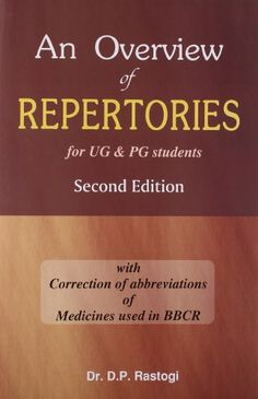 An Overview of Repertories for UG and PG Students: 1