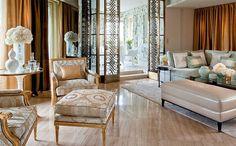 Four Seasons George V's penthouse suite.  Paris.