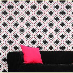 Moroc-n-roll wall stencil  #CuttingEdgeStencils