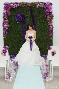 WedLuxe– Radiant Orchid | Photography by: Denise Lin Photography Follow @WedLuxe for more wedding inspiration!