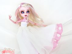 Nari, the Dancer. Batsy Claro Monster High custom repaint doll by Dollightful