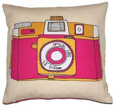 Holga Camera Cushion