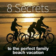8 Secrets to the Perfect Family Beach Vacation | @PalmettoDunes