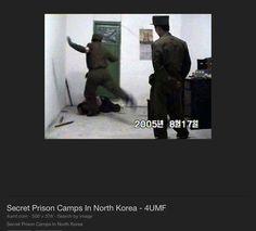 North Korean prison camp. Woman being tortured.
