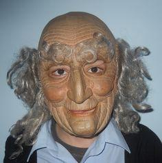 !971 Happy old man Vinyl Cesar mask
