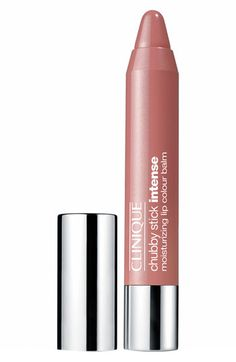 Clinique Chubby Stick - Intense Moisturizing Lip Color Balm | Nordstrom 01 Curviest Caramel $16.00