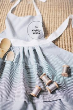 Easy Sewing Projects to Sell - DIY Hostess Apron - DIY Sewing Ideas for Your Craft Business. Make Money with these Simple Gift Ideas, Free Patterns, Products from Fabric Scraps, Cute Kids Tutorials http://diyjoy.com/sewing-crafts-to-make-and-sell
