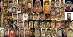 M.S. 1.-3. Yüzyıla Ait Olan Dünyanın İlk Portreleri Mısır'da El Feyyum Bölgesinde Bulundu