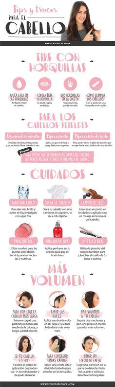 TIPS PARA EL CABELLO - Secretos de Chicas by Patry Jordan