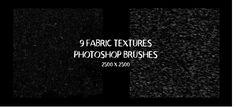 9 Fabric Textures - Photoshop Brushes by Tom Chalky Free Photoshop, Photoshop Brushes, Brush Sets, Photoshop Illustrator, Fabric Textures, Cool Designs, Free Brushes, Illustration, Backgrounds