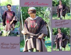 MyCoCreations - An African Inspired versatile poncho - I am IN LUV with this creation and will be offering them on my website very soon. #MyCoCreations   www.MyCoCreations.com http://blog.MyCoCreations.com/ http://pinterest.com/mycocreations http://youtube.com/mycocreations http://facebook.com/mycocreations http://twitter.com/mycocreations http://mycocreations.storenvy.com/