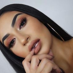 ☪Pinterest → FrenchFanGirl ☼ Makeup On Fleek, Flawless Makeup, Cute Makeup, Glam Makeup, Gorgeous Makeup, Pretty Makeup, Skin Makeup, Makeup Inspo, Makeup Inspiration