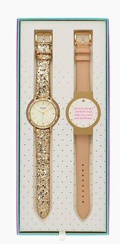 Gorgeous watch set by kate spade new york #xmasgifts http://rstyle.me/n/rtqeen2bn