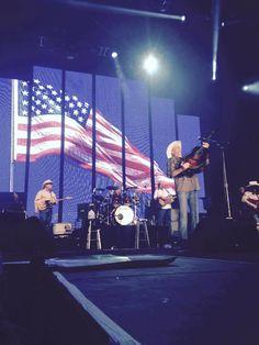 Alan jackson performing in enid, Oklahoma