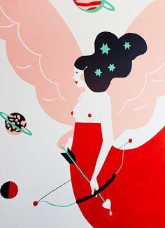 The Jacky Winter mural - eirianchapman