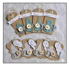 Tag design... Sylvie B pour Scrap à la Carte - Etiquettes cadeaux