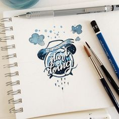 These Watercolor Quotes Will Make You Feel All the Feels via Brit + Co.