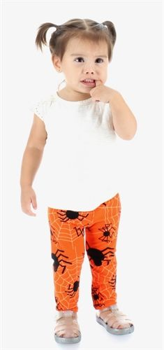 Mommy and Me Buttery Soft Leggings 8 Legged Freaks Perfect for Halloween (Buskins Exclusive) Available in infant, toddler, kids and Adult sizes