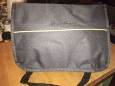Eddie Bauer Insulated Cooler Warmer Lunch Messenger Bag Baby Pack   eBay