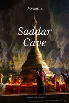 Saddar Cave, located near Hpa-An, Myanmar. Plus a countryside lunch.