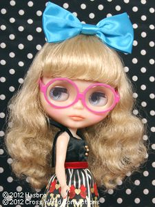 "February 24th 2012 ~ First glance of CWC Limited Neo Blythe ""Margo Unique Girl""  ~ More Blythe news ~ http://www.blythedoll.com/eng/news/"