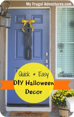 Quick and Easy DIY Halloween Decor.