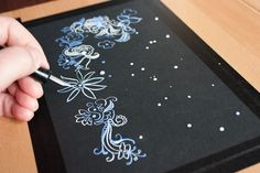 Toolbox: Drawing with Gouache and a Nib | http://adventures-in-making.com/toolbox-drawing-with-gouache-and-a-nib/