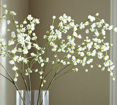 Faux Flowering Belle Branch | Pottery Barn